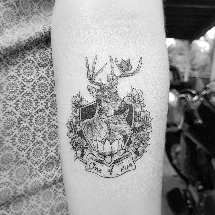 Vegan tattoo by Alexandyr Valentine