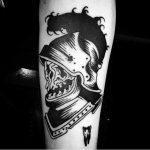 Dead knight tattoo