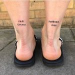For Emma Forever Ago tattoo by European Son 420
