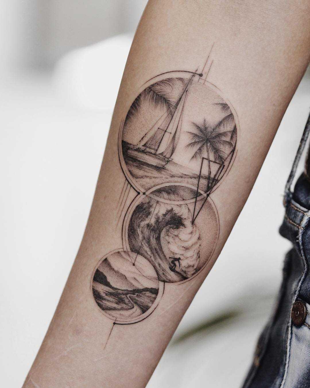 Framed memories tattoo