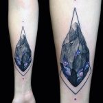 Galactic gem tattoo by Vlad Tokmenin