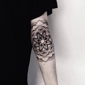 Hell patrol mandala tattoo