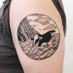 Killer whales tattoo