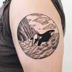 Killer whales tattoo
