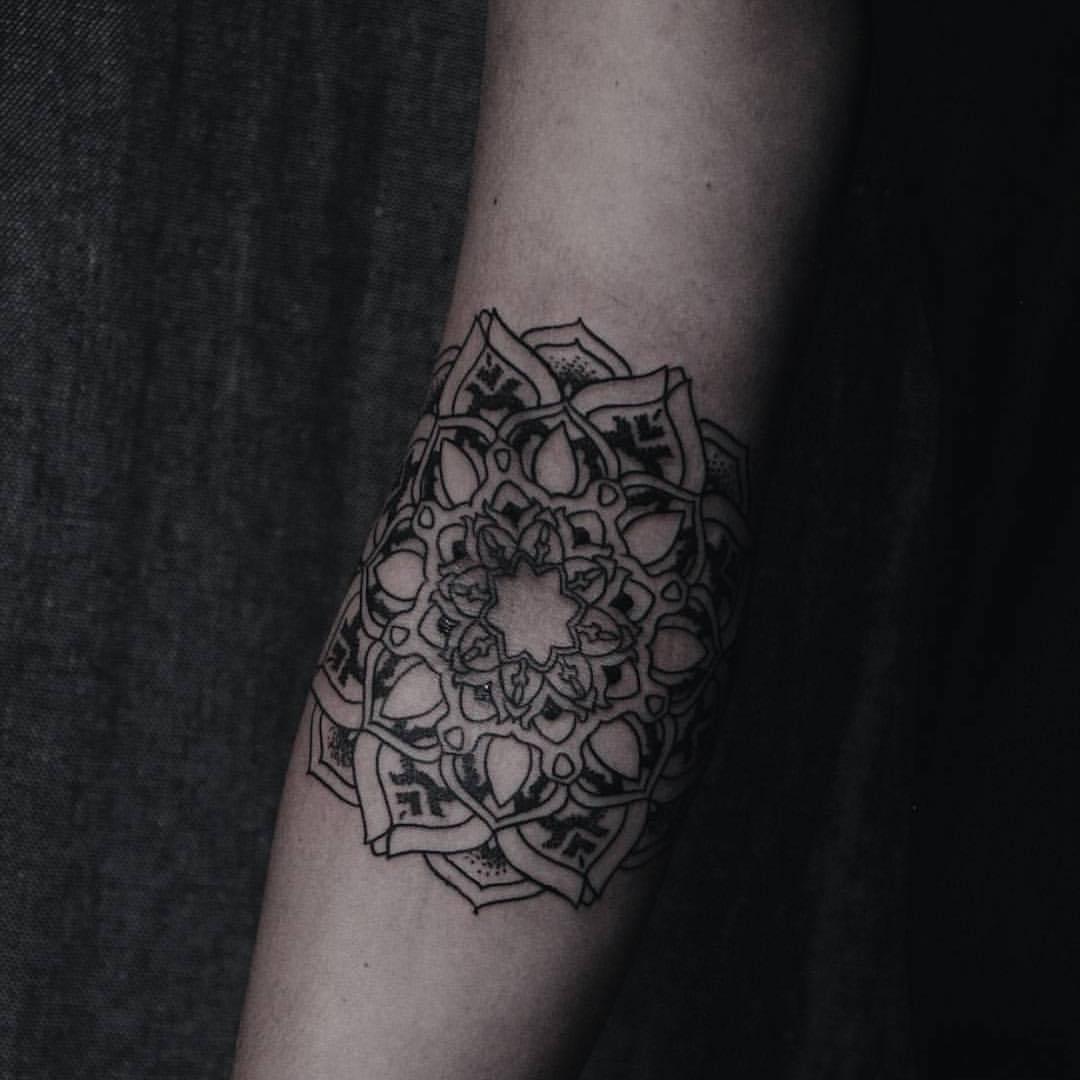 Mandala by Blackbird Tattoos