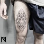 Mandala tattoo by Nadav Abras