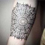 Mandala tattoo by Vaigirdas Kofy