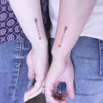 Matching arrows by Lindsay April