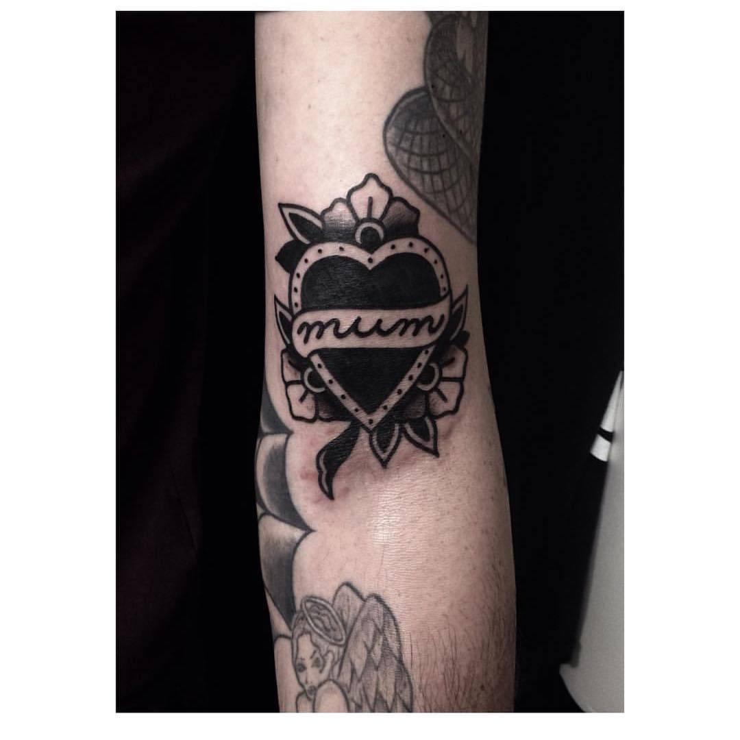 Mum tattoo by Matty Darienzo