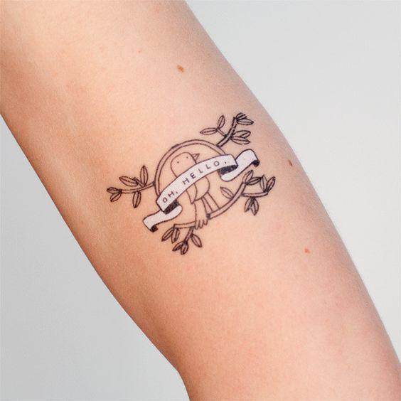 Oh hello tattoo