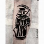 Plague doctor tattoo by Ana