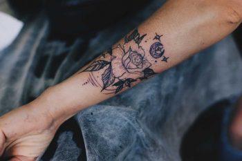 Power of moon tattoo