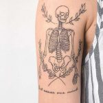Skeleton by Gee Hawkes Tattoo