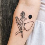 Tattoo for gardening maniac