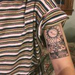 The moon tattoo