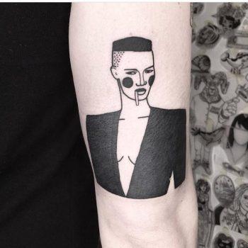 Woman tattoo by Dorca Borca