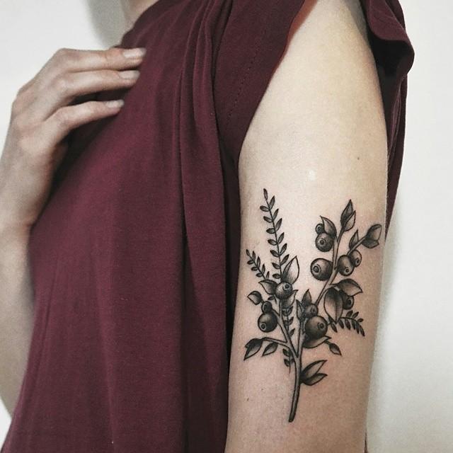 Wonderful wildflower bundle tattoo
