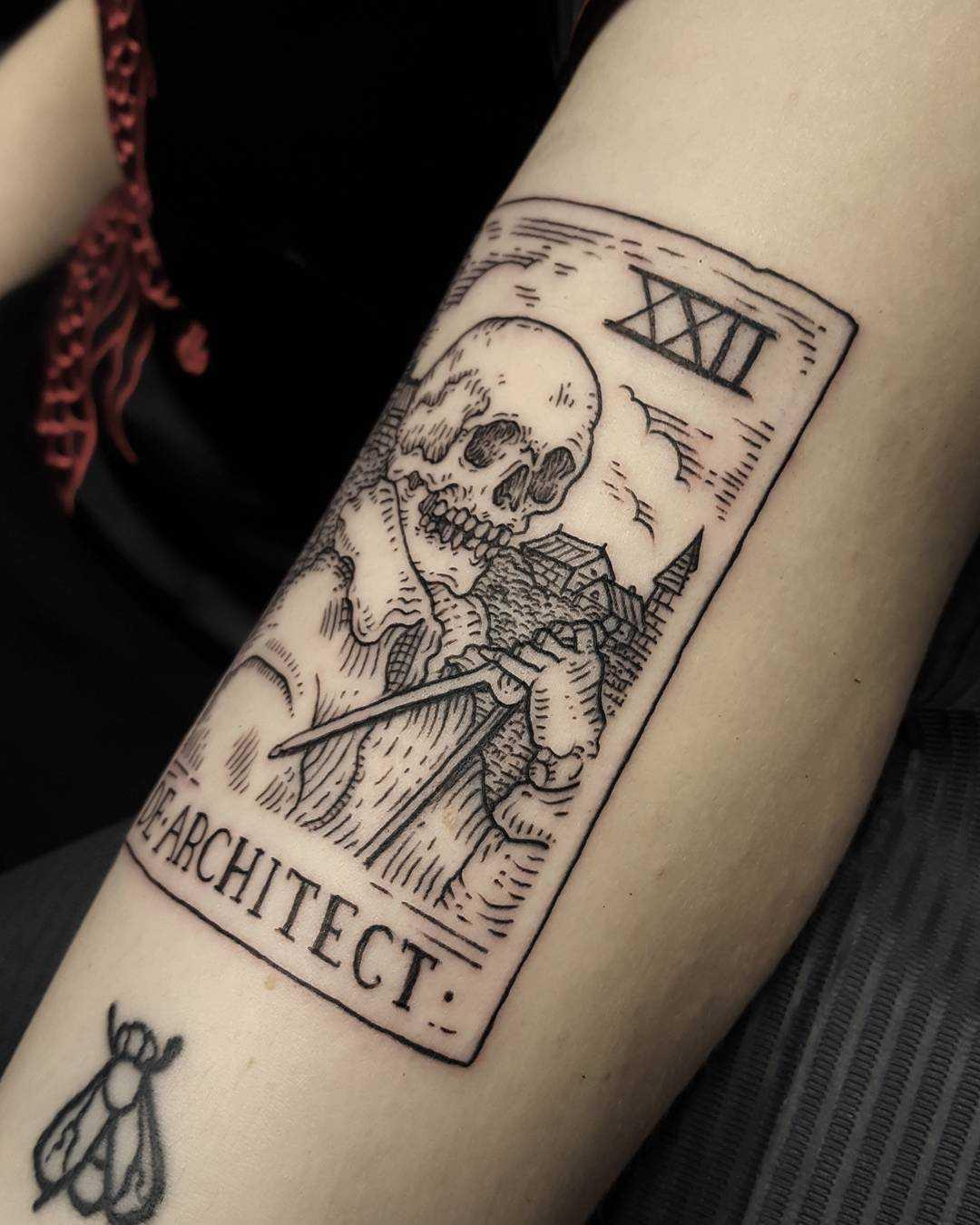 XXII De Architect tattoo