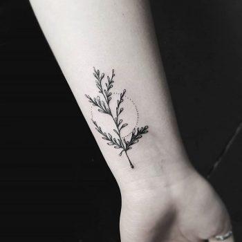 Greenery by Stella TX Tattoo