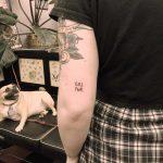 Grl pwr tattoo by Jen Wong