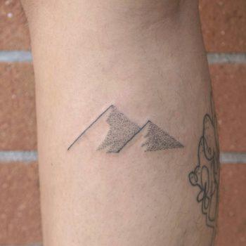 Pyramids tattoo by Beta Pokes