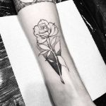 Rose tattoo by Jubba Oliveira
