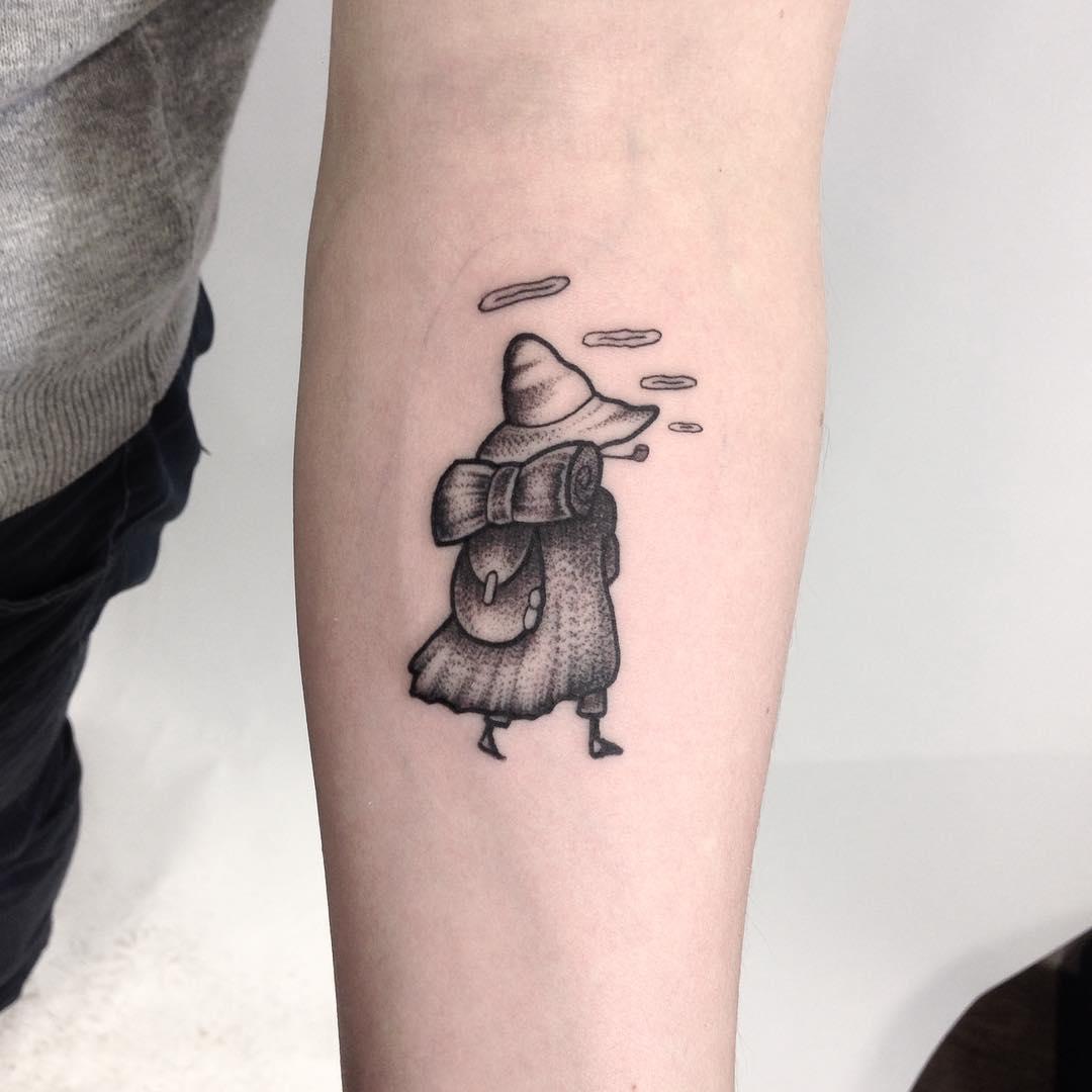 Snufkin tattoo