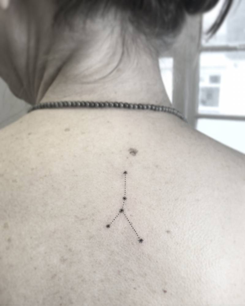 Taurus constellation by Naraishikawa