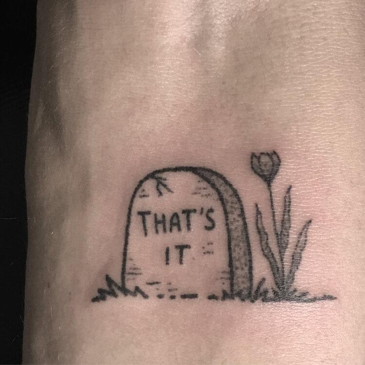 That's it tattoo