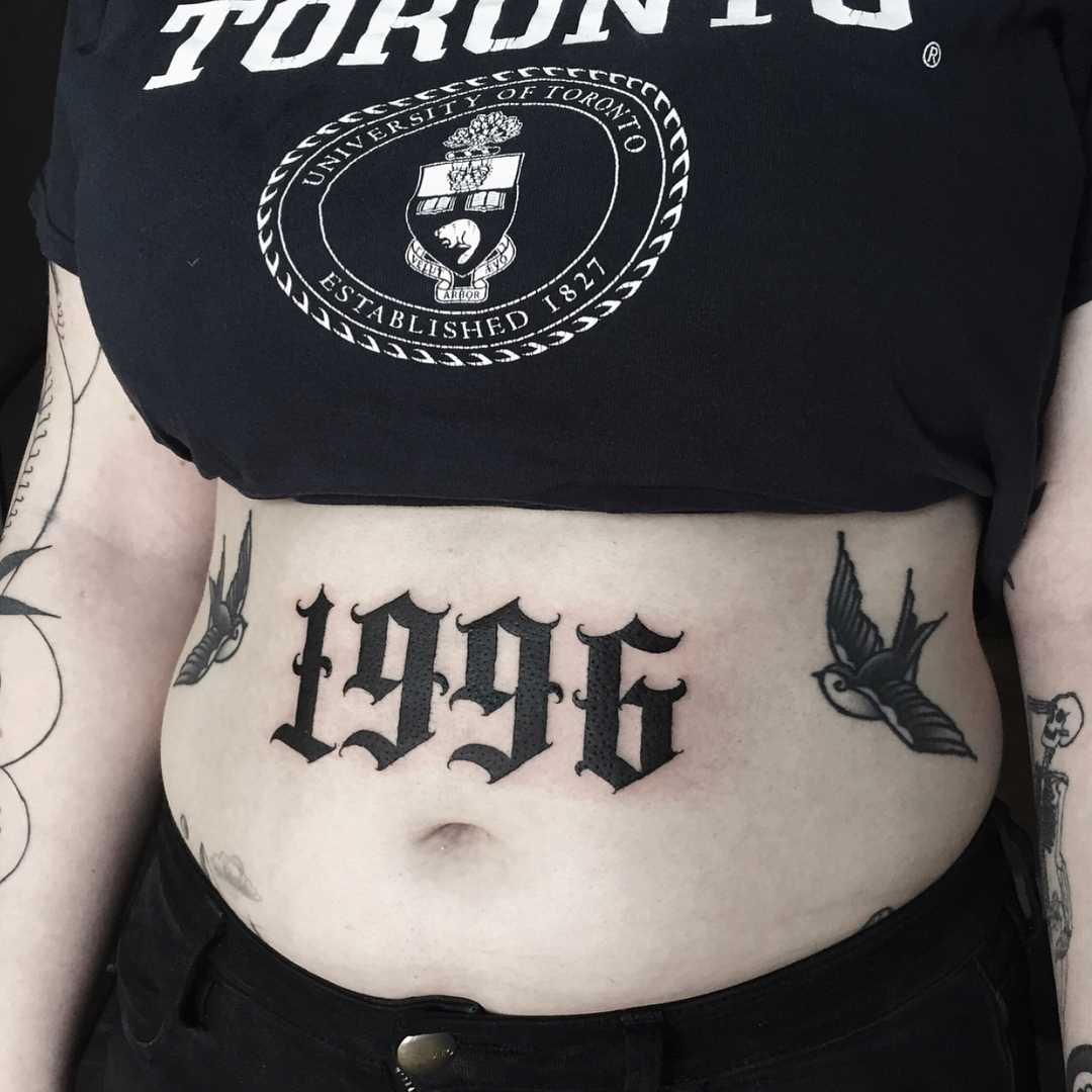 1996 tattoo