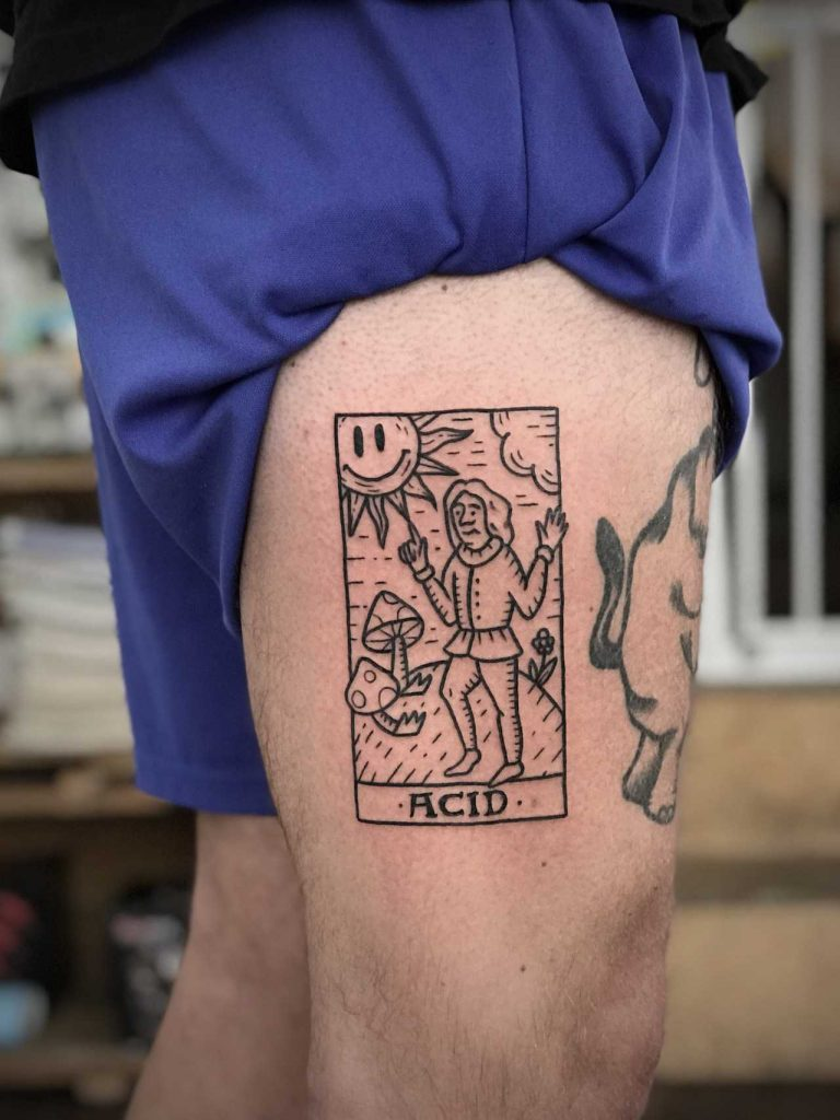 Acid tattoo