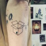 Box tattoo by Agata Agataris