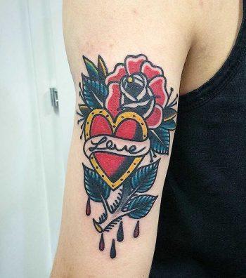 Classic tattoo by Łukasz Krupiński