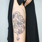 Dragon tattoo by Jay Rose
