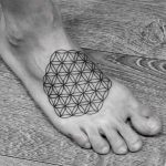 Flower of life tattoo by Wagner Basei