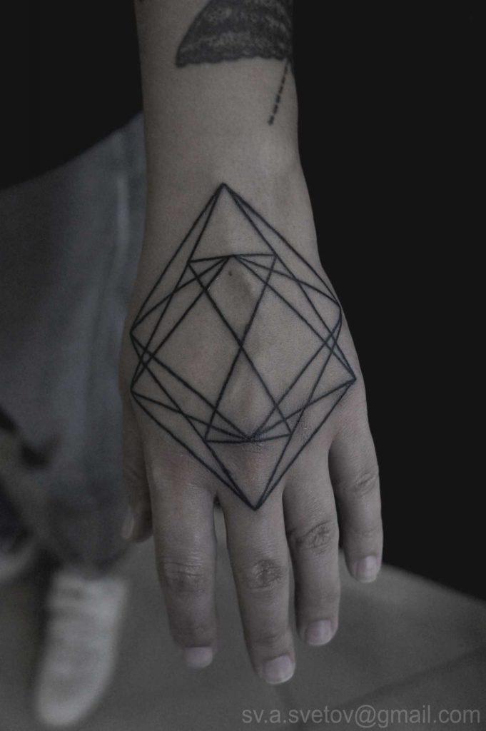 Geometric hand piece by Andrei Svetov