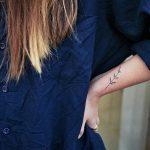 Hemp flower tattoo