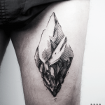 Iceberg tattoo by Warda