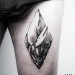 Iceberg tattoo by Warda