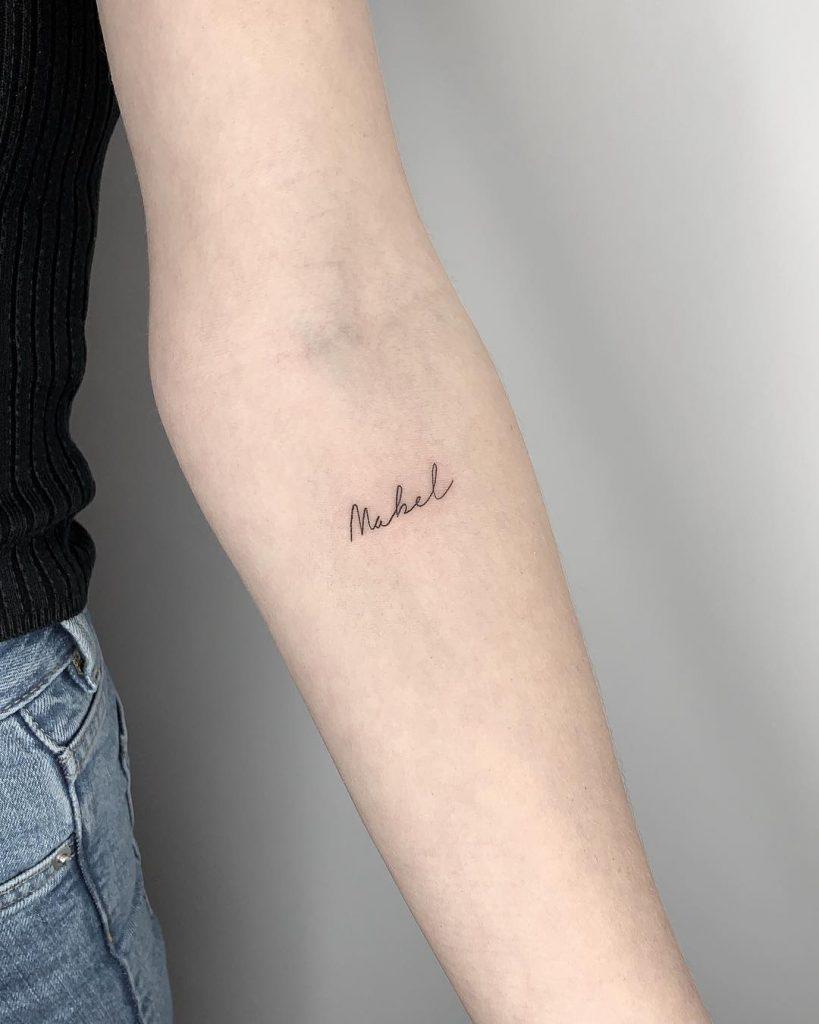 Mahel tattoo by Conz Thomas