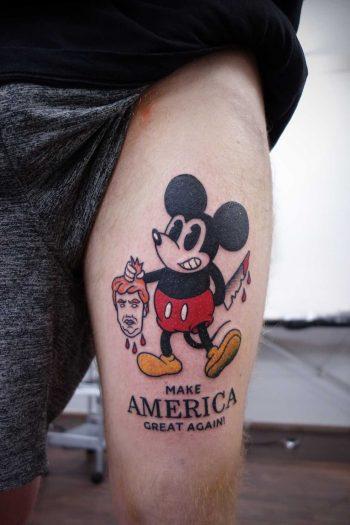Make America great again tattoo