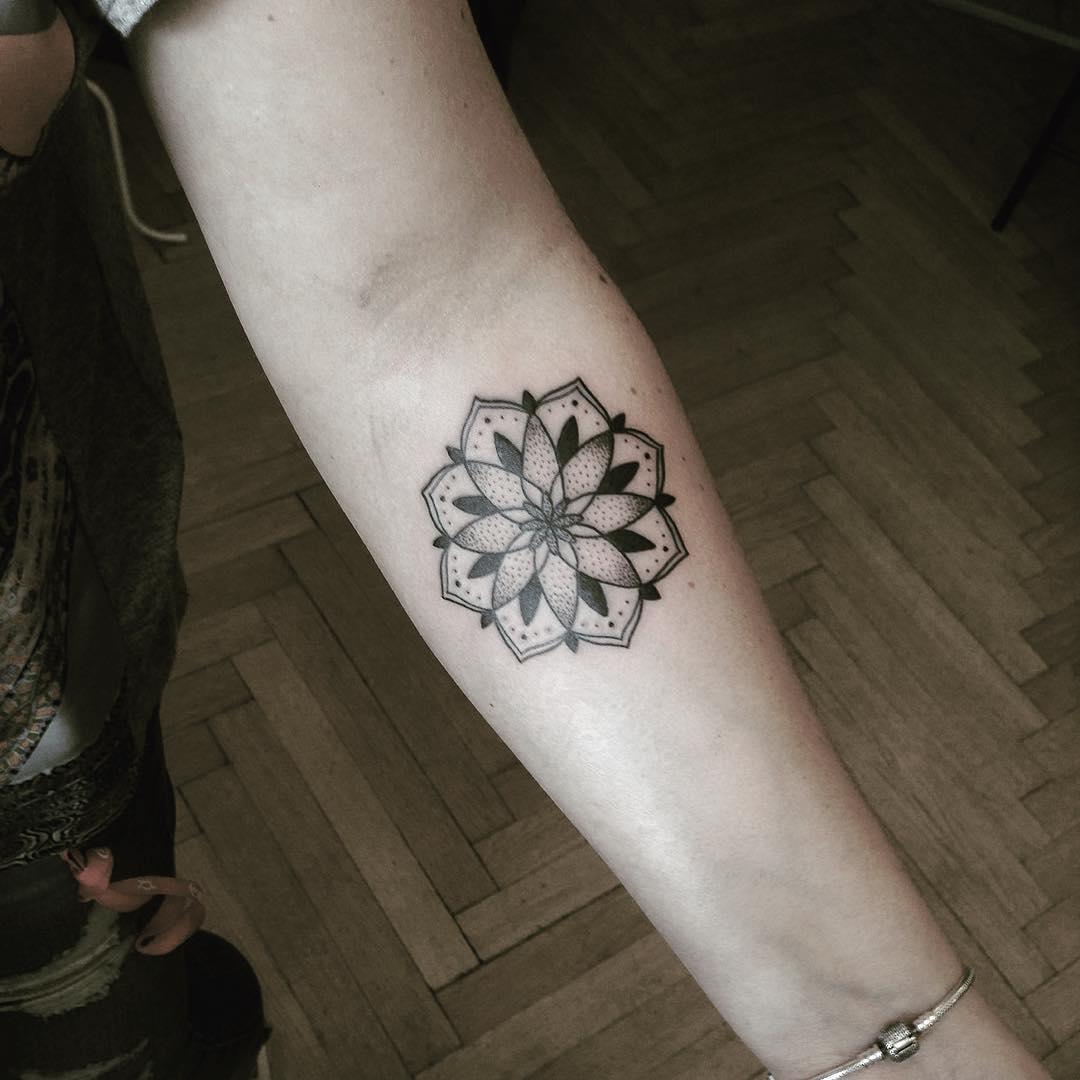 Mandala by Tattooist Smutek
