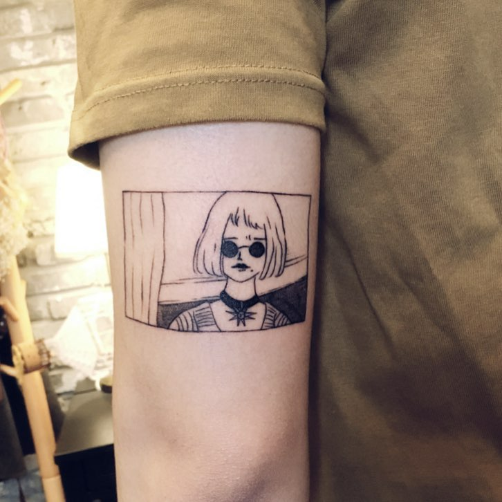 Mathilda from Léon The Professional tattoo