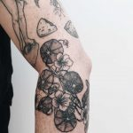 Nasturtiums tattoo by Finley Jordan