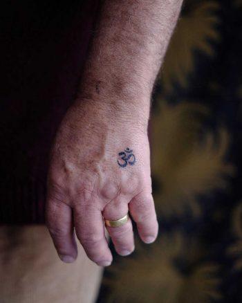 Om tattoo by Jaya Suartika