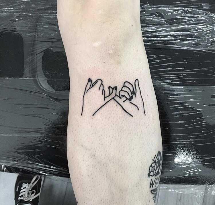 Pinky promise by Mr. Preston Tattoo