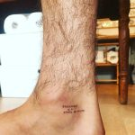 Quote on ankle by Naraishikawa