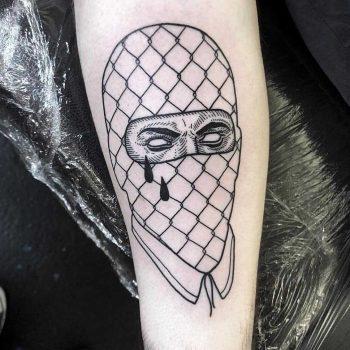 Robber tattoo