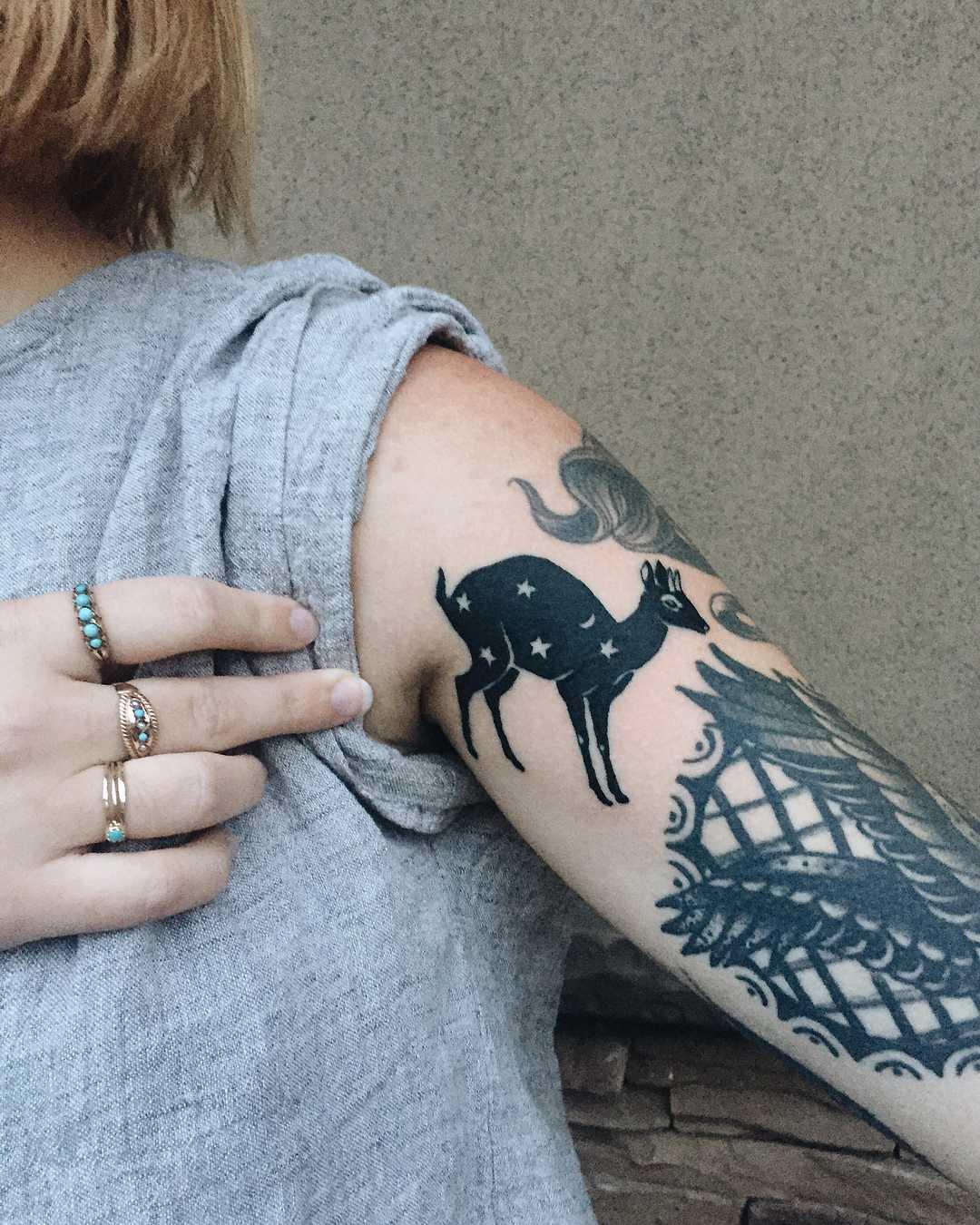 Sarry Dik-Dik tattoo
