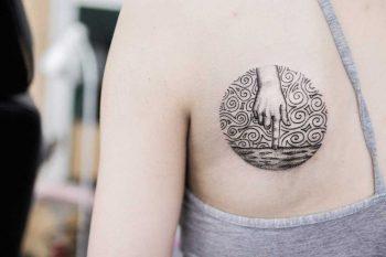 Sea under control tattoo by Dogma Noir